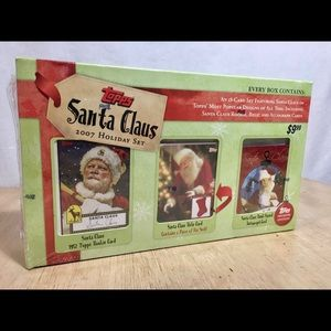 Topps Other - Topps Santa Claus Premiere Edition Holiday Sealed